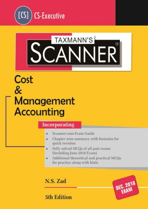 Scanner - Cost & Management Accounting (CS-Executive)