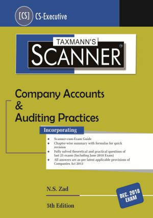 Scanner-Company Accounts & Auditing Practices by N.S Zad