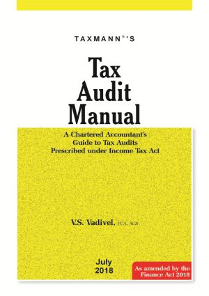 Tax Audit Manual