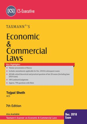 Economics & Commercial Laws by Tejpal Sheth (CS-Executive)