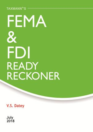 FEMA & FDI Ready Reckoner