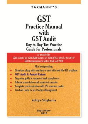 GST Practice Manual with GST Audit