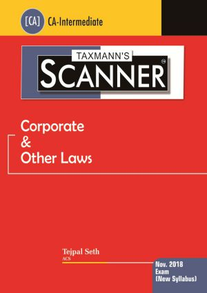 Scanner - Corporate & Other Laws (New Syllabus)