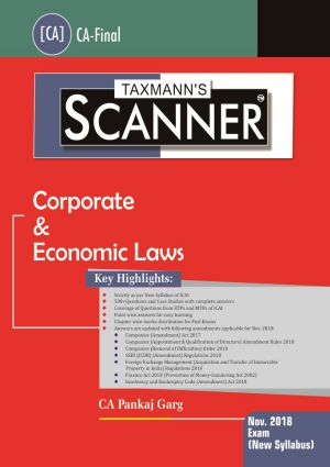 Scanner - Corporate & Economic Laws