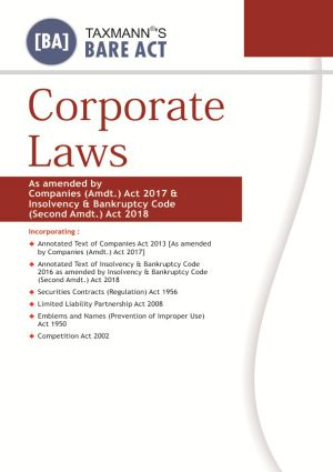 Corporate Laws (Paperback Edition)