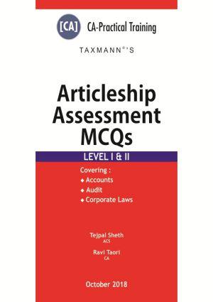 ICAI Articleship Assessment Test MCQs - Level I & II