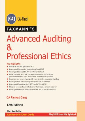 Advanced Auditing & Professional Ethics (CA-Final) by Pankaj Garg (Old Syllabus) (e-book)