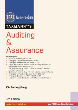Auditing & Assurance by CA Pankaj Garg (CA-Intermediate)- New Syllabus (e-book)