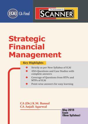 Scanner - Strategic Financial Management
