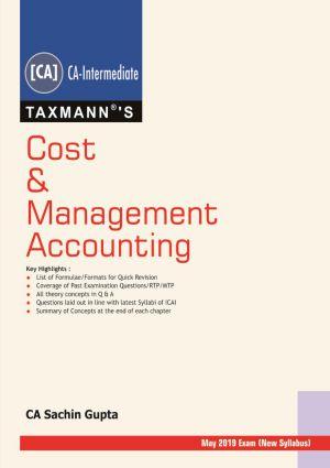 Cost & Management Accounting by Sachin Gupta (e-book)