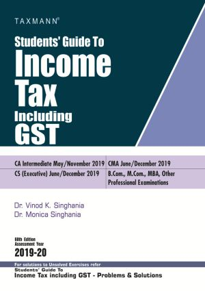Students Guide To Income Tax including GST (e-book)