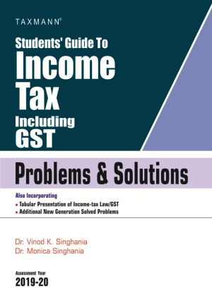Students Guide To Income Tax Including GST - Problems & Solutions (e-book)