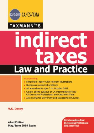 Indirect Taxes Law and Practice (e-book)