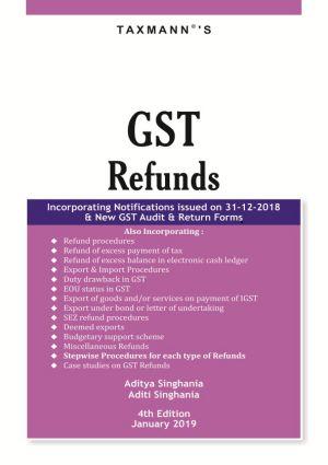 GST Refunds (e-book)