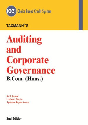 Auditing and Corporate Governance - B.com. (Hons.)