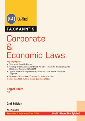 Corporate & Economic Laws - (CA- Final)