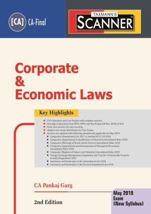 Scanner - Corporate & Economic Laws