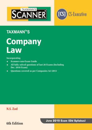 Scanner - Company Law (Old Syllabus) (e-book)
