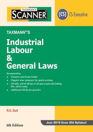 Scanner - Industrial Labour & General Laws (CS - Executive) - Old Syllabus