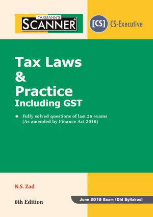 Scanner - Tax Laws & Practice including GST (e-book)