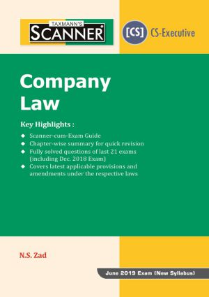 Scanner - Company Law (New Syllabus)(e-book)