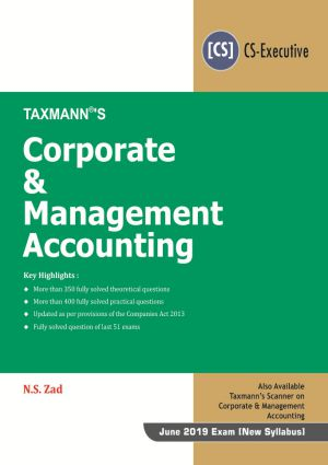 Corporate & Management Accounting