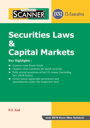 Scanner   - Securities Laws & Capital Markets