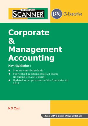 Scanner - Corporate & Management Accounting