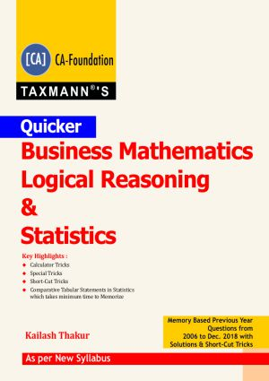 Quicker Business Mathematics Logical Reasoning & Statistics