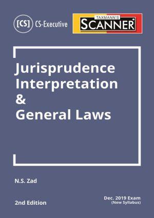Scanner - Jurisprudence Interpretation & General Laws (New Syllabus)
