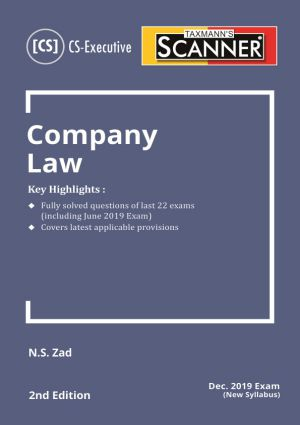 Scanner - Company Law (New syllabus)