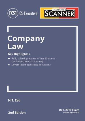 Scanner - Company Law (New syllabus) (E-BOOK)