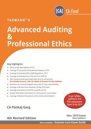 Advanced Auditing & Professional Ethics (CA-Final) by Pankaj Garg [New Syllabus] (e-book)