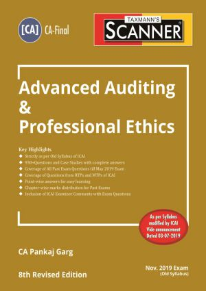 Scanner - Advanced Auditing & Professional Ethics (Old Syllabus) (e-book)