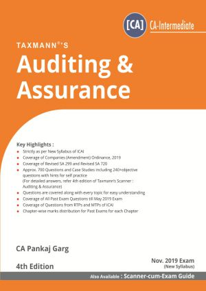 Auditing & Assurance by Pankaj Garg (CA-Intermediate) - New Syllabus (e-book)