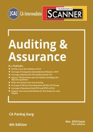 Scanner - Auditing & Assurance by Pankaj Garg - New Syllabus (CA- Intermediate) (e-book)