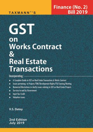 GST on Works Contract & Real Estate Transactions