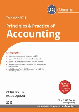 Principles & Practice of Accounting- New Syllabus