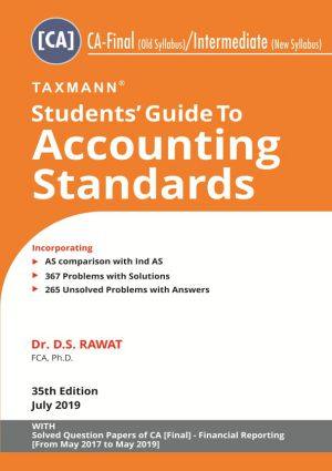 Students Guide to Accounting Standards - CA-Final (old syllabus)/Intermediate (New Syllabus)