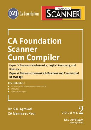 Scanner - CA Foundation Scanner Cum Compiler (Volume 2) - New Syllabus
