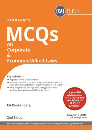 MCQs on Corporate & Economic /Allied Laws - (Old/New Syllabus )