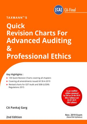 Quick Revision Charts For Advanced Auditing and Professional Ethics