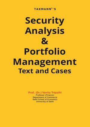 Security Analysis & Portfolio Management Text and Cases (e-book)