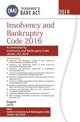 Insolvency And Bankruptcy Code 2016 (e-book) 2019 Edition