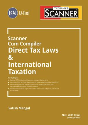 Scanner Cum Compiler Direct Tax Laws & International Taxation