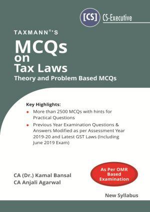 MCQs on Tax Laws 2019 Edition  (e-book)