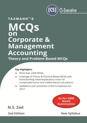 MCQs on Corporate & Management Accounting