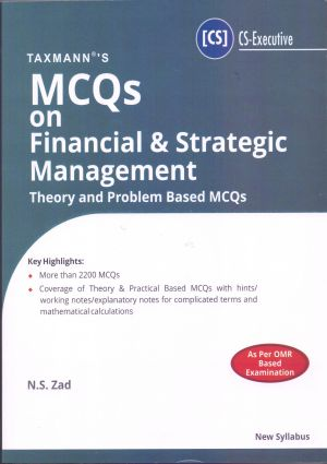 MCQs on Financial & Strategic Management