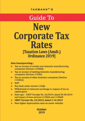 Guide To New Corporate Tax Rates