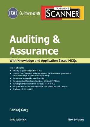 Scanner - Auditing & Assurance by Pankaj Garg - New Syllabus (CA-Intermediate)